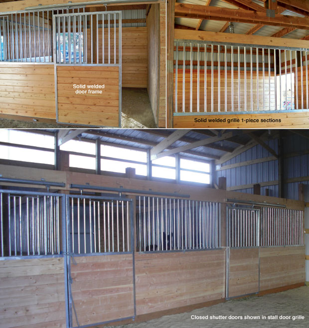 Horse stall kit modular horse stall kits by triton barn for 2 stall horse barn kits