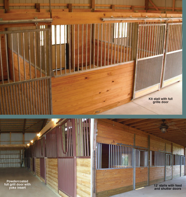 Horse stall kit modular horse stall kits by triton barn for Horse barn prices
