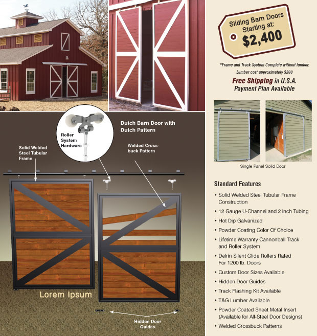 Cupolas Dutch Doors And Horse Barn Doors Triton Barn Systems Our