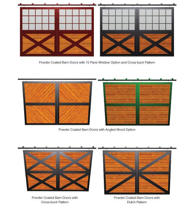 Crossbuck Doors Barn Amp X Brace Barn Door Shown Installed