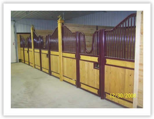 Horse barns: Stall fronts