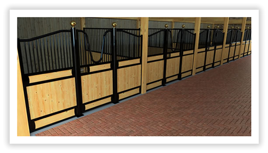 Stall fronts: Customer european stall fronts