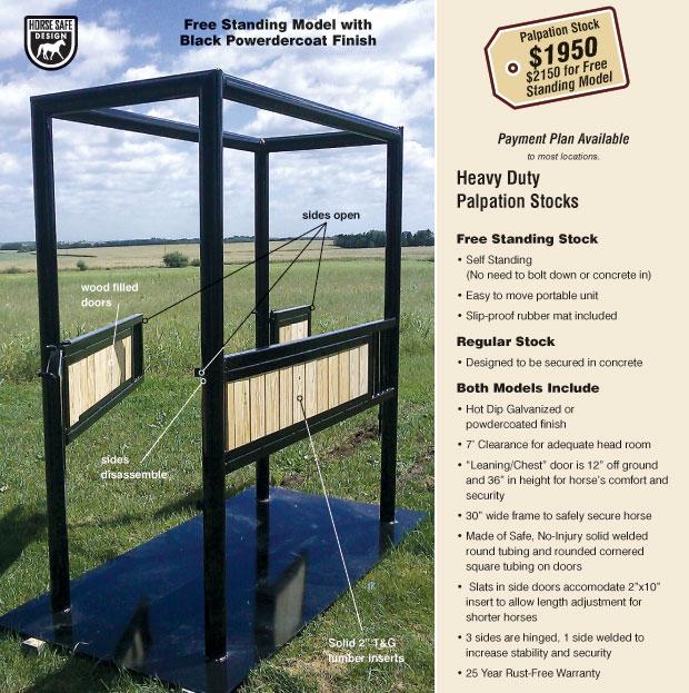 Horse Stalls And Horse Barns Heavy Duty Horse Palpation