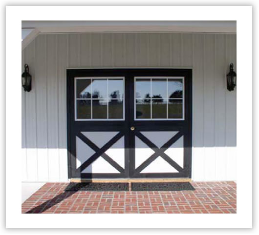 Horse Barns Dutch Door