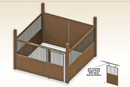 Lev topic diy horse barn plans free for 2 stall horse barn kits