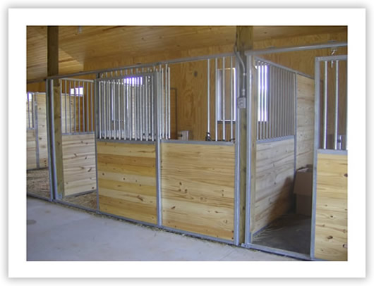 Image gallery horse barn stall doors for Horse stall door plans
